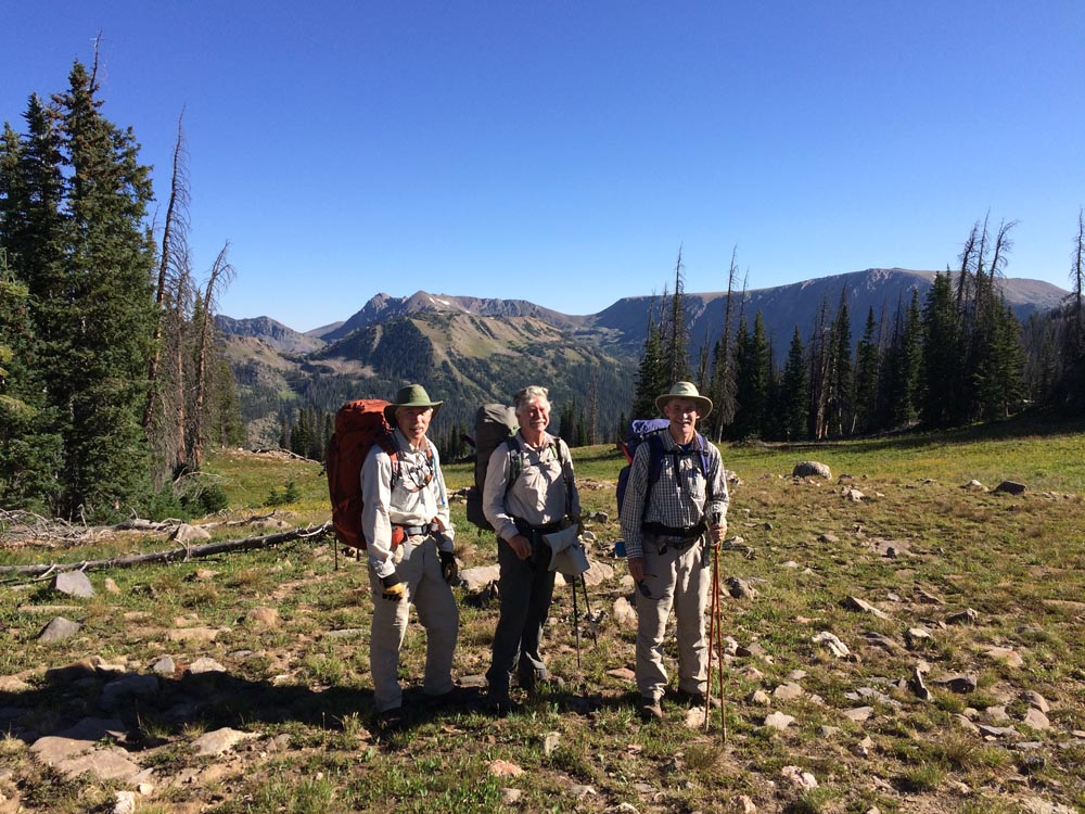 friends of wilderness volunteers hiking